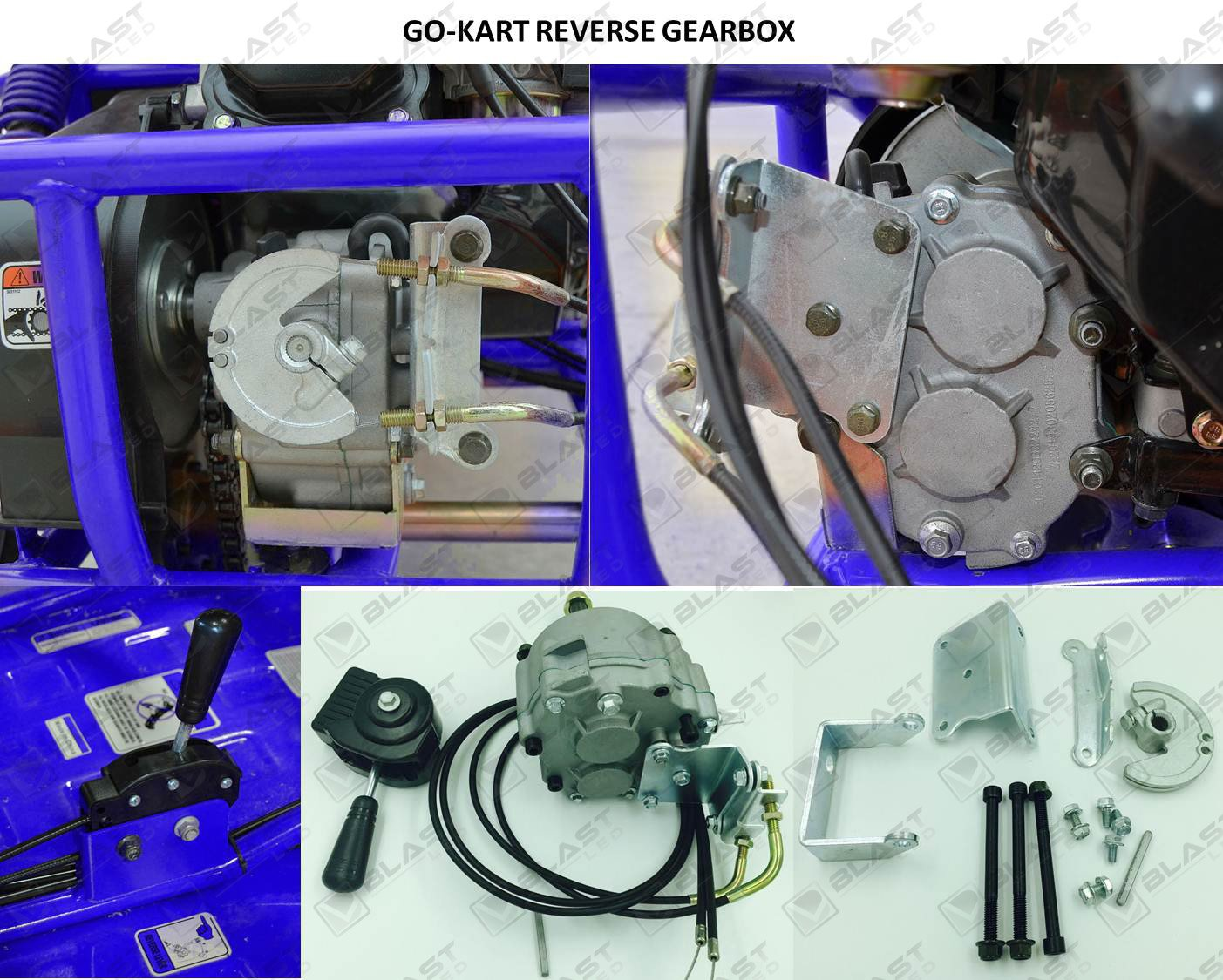 Amazon.com: BLAST Go Kart Forward Reverse Gear box Fits 2HP - 11HP Engine  41P 10T or 12T TAV30 - ONLY WORKS WITH 30 SERIES Torque Converter:  Automotive
