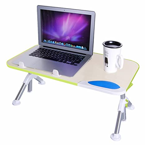 Amazon Dinger Adjustable Laptop Table Portable Standing Bed