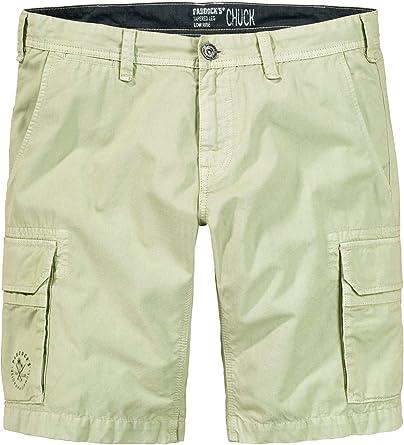 Paddocks Chuck - Bermudas para Hombre (100% algodón, Ligeras ...