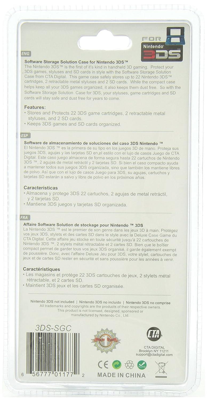 CTA Digital Software Storage Solution Case for 3DS ...