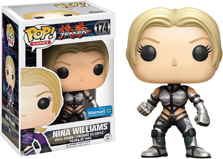 Amazon Com Funko Nina Williams Walmart Exclusive Pop Games X