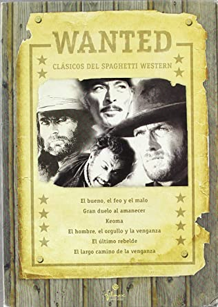 Pack Wanted: Spaghetti Western [DVD]: Amazon.es: Varios: Cine y ...