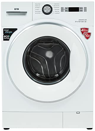 IFB 6.5 kg Fully-Automatic Front Loading Washing Machine (Senorita WX, White)