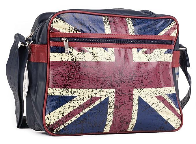 New – Vintage bandera británica bolso bandolera | de piel sintética | Robin Ruth UK