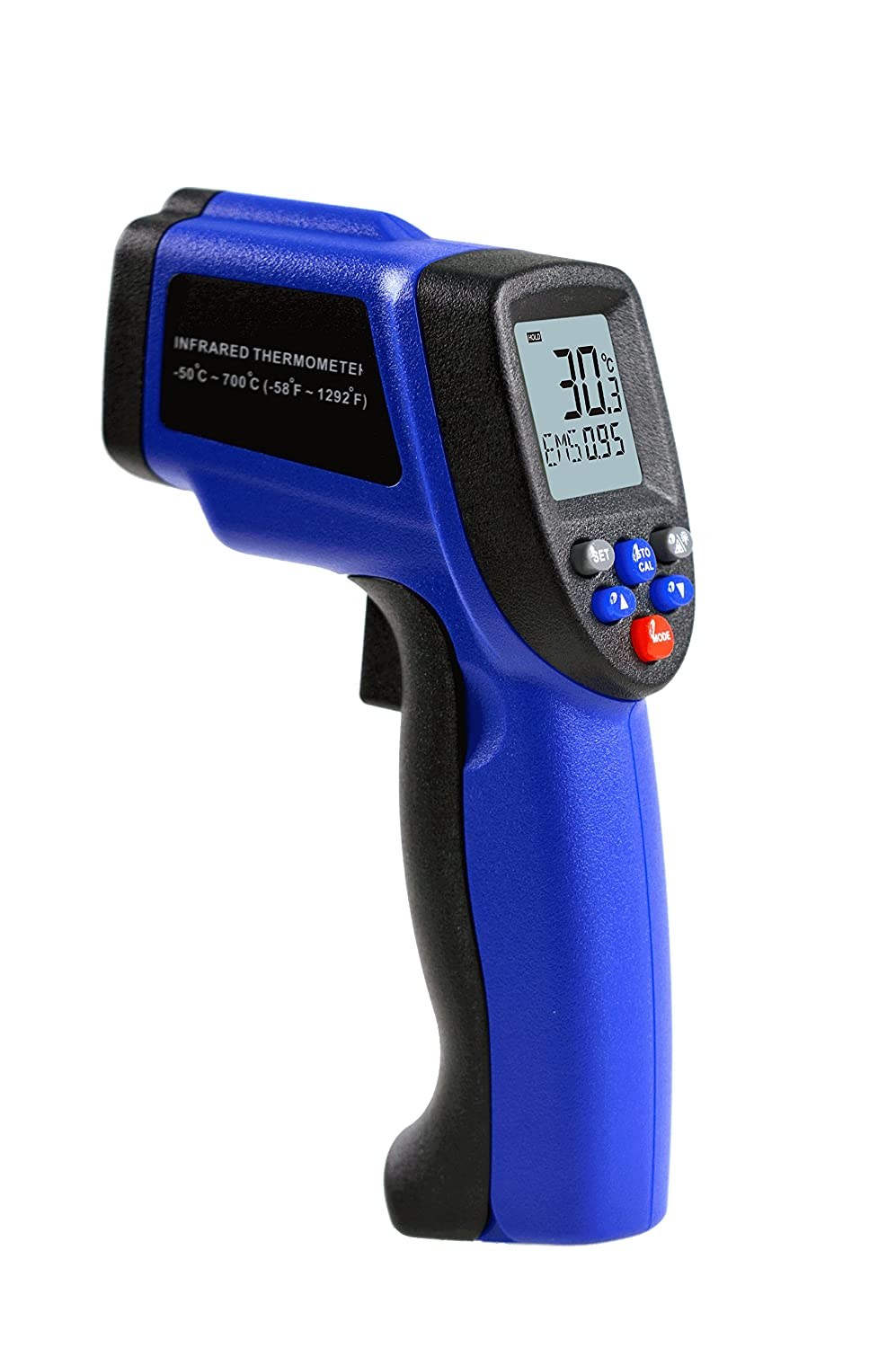 Amazon.com: Benetech WT700 Infrared Thermometer, -50 to 700℃; D:S=12:1: Industrial & Scientific