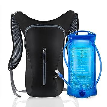 Hydration Mochila – Mochila de hidratación con 2L Hidratación. Hydration Pack Sistema de hidratación Backpack