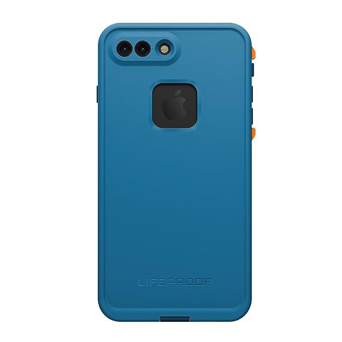 best website 48b34 5739a Lifeproof FRĒ SERIES Waterproof Case for iPhone 7 Plus (ONLY) - Retail  Packaging - BASE CAMP BLUE (COWABUNGA BLUE/WAVE CRASH/MANGO TANGO)