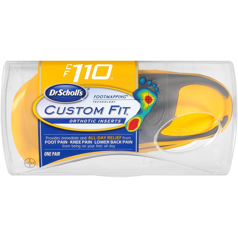 Amazon.com: Dr. Scholl's Custom Fit Orthotic Inserts, CF 110: Health on