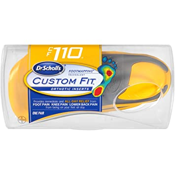 1d65d770594f Image Unavailable. Image not available for. Color  Dr. Scholl s Custom Fit  Orthotic Inserts