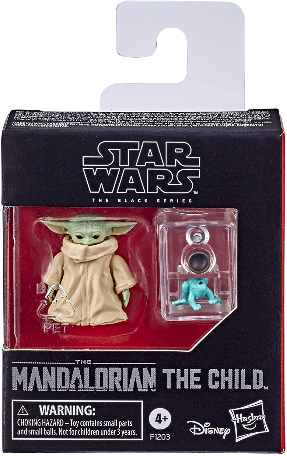 Star Wars The Black Series The Child Toy 1.1-Inch Figure Mandalorian Baby Yoda