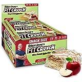 Fit Crunch Apple Pie Protein Bar, High Protein, Just 3g of Sugar, Gluten Free (9 Count, Apple Pie)