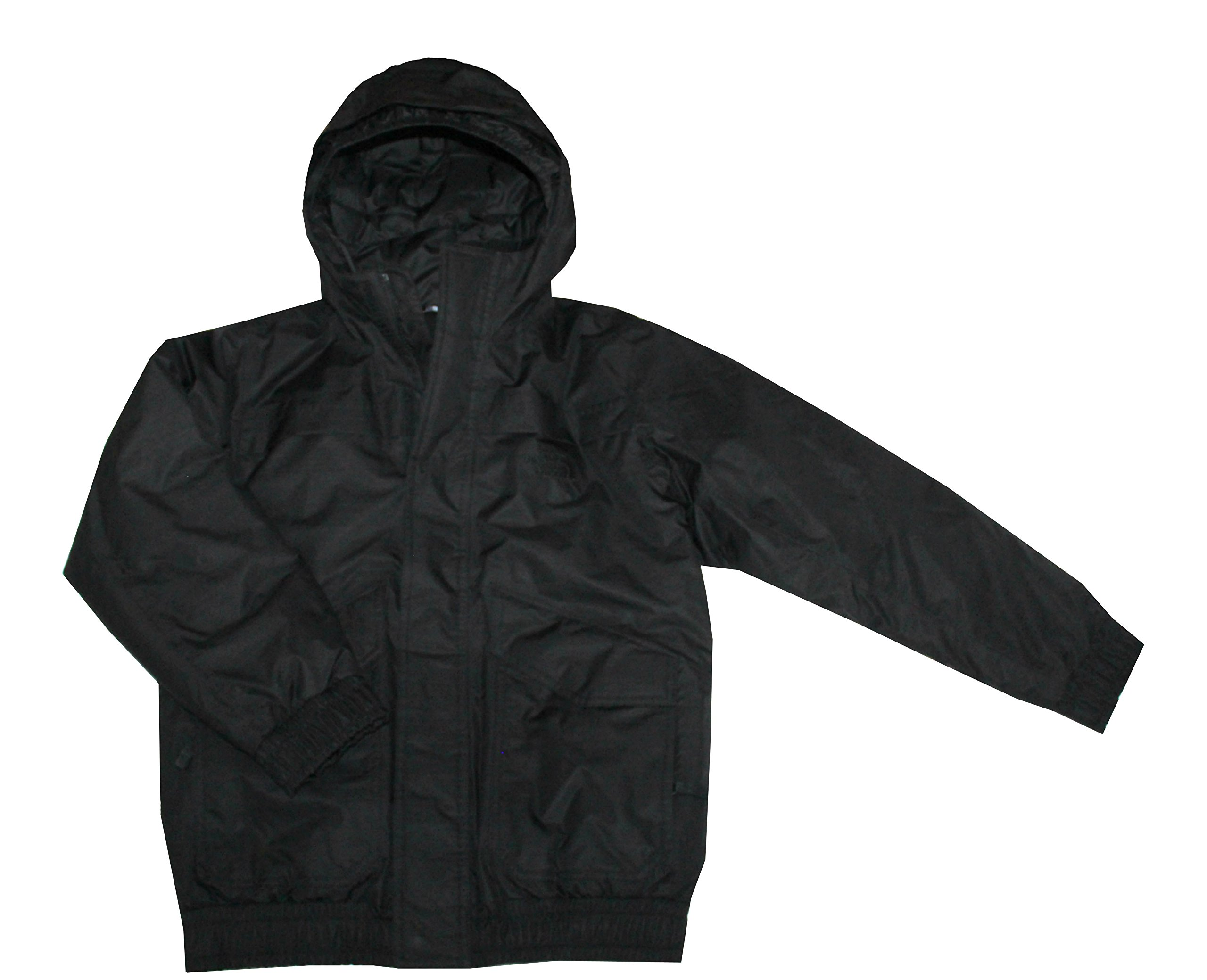 THE NORTH FACE YOUTH BOYS MILO DOWN INSULATED WINTER JACKET BLACK (L 14/16) by The North Face