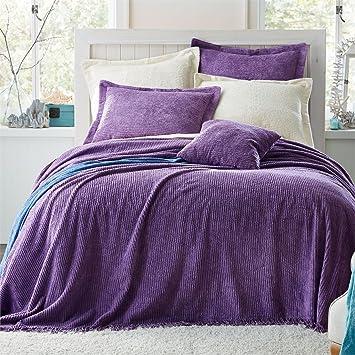 brylanehome cotton chenille bedspread purpletwin - Chenille Bedspreads