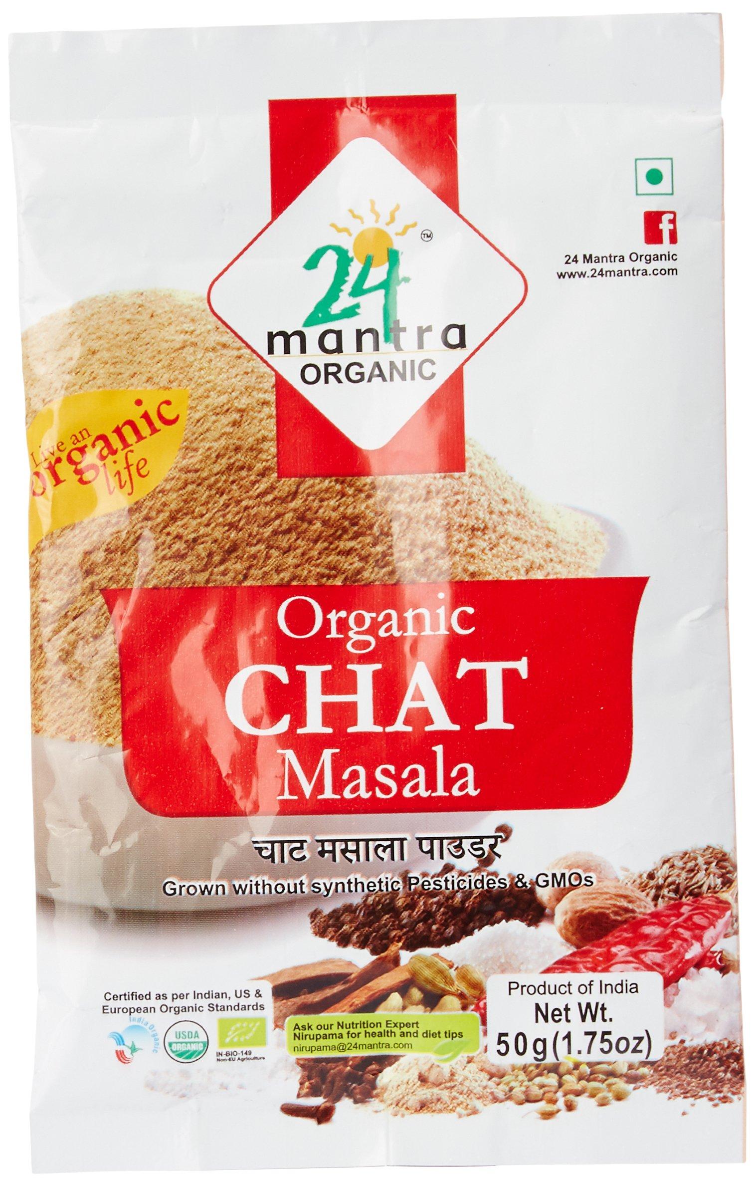 Amazon price history for 24 Mantra Organic Chat Masala, 50g