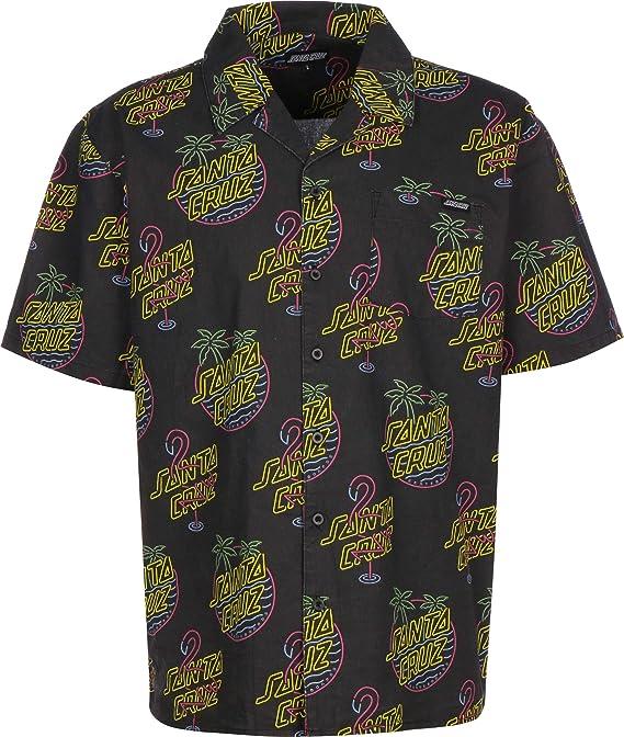 Santa Cruz Glow Camisa de Manga Corta: Amazon.es: Ropa