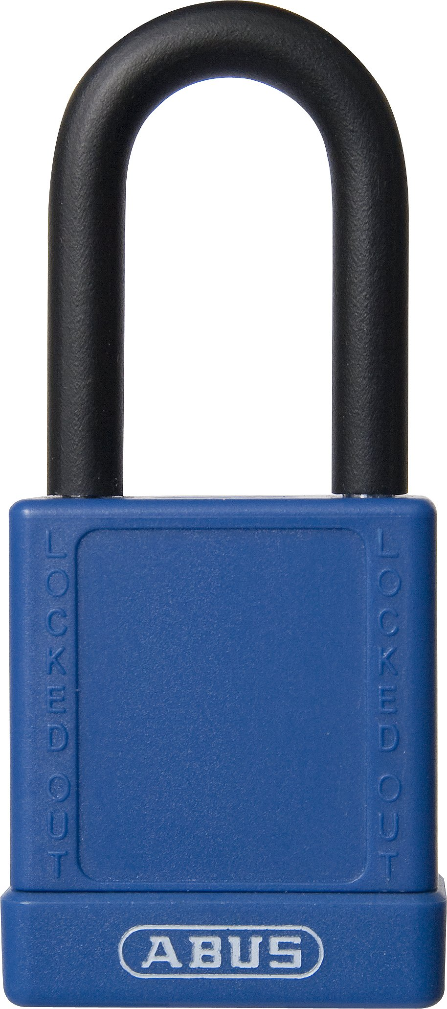 ABUS 74/40 KD Safety Lockout Non-Conductive Keyed Different Padlock with 1-1/2-Inch Shackle, Blue