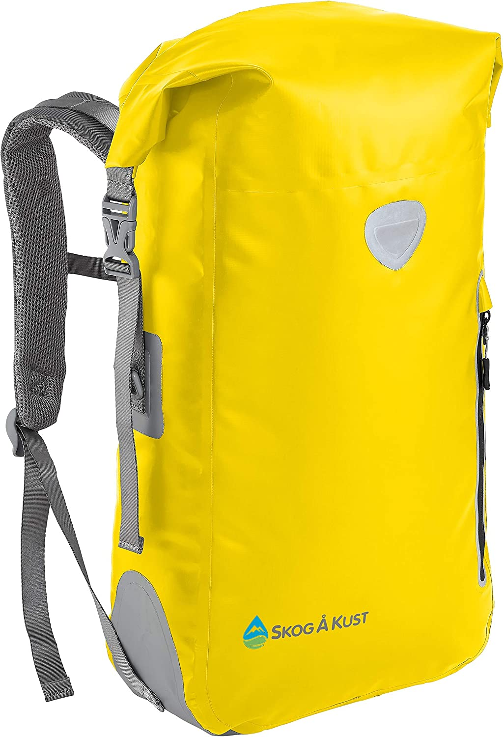 Skog Å Kust BackSåk Waterproof Floating Backpack with Exterior Zippered Pocket | for Kayaking, Rafting, Boating, Swimming, Camping, Hiking, Beach, Fishing | 25L & 35L Sizes
