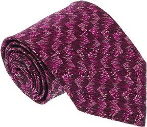 Missoni U3601 Magenta Burgundy Herringbone 100% Silk Tie for Mens 2184fc810