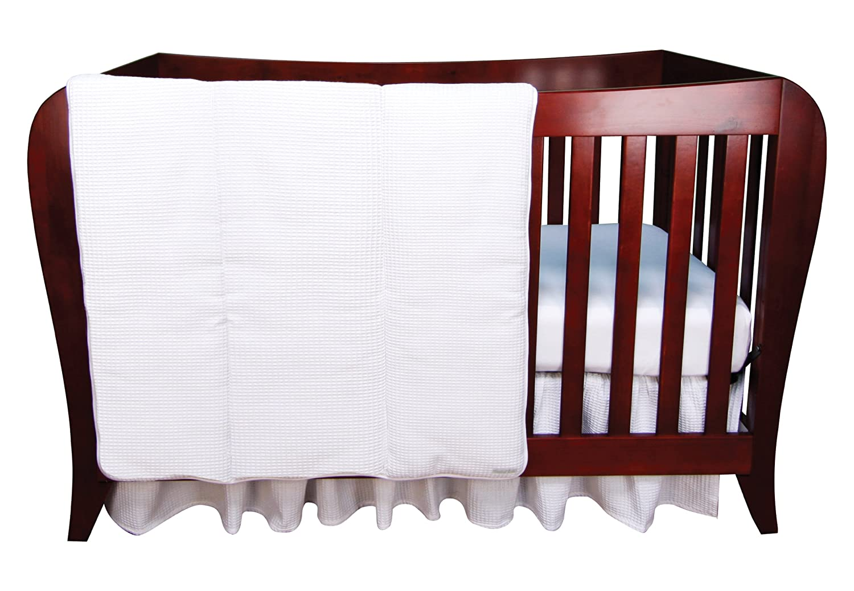 Trend Lab Set White Crib Pique 3 Piece Crib Bedding Set Trend by Trend Lab B00773WKRY, 希少 黒入荷!:45d9a272 --- itxassou.fr
