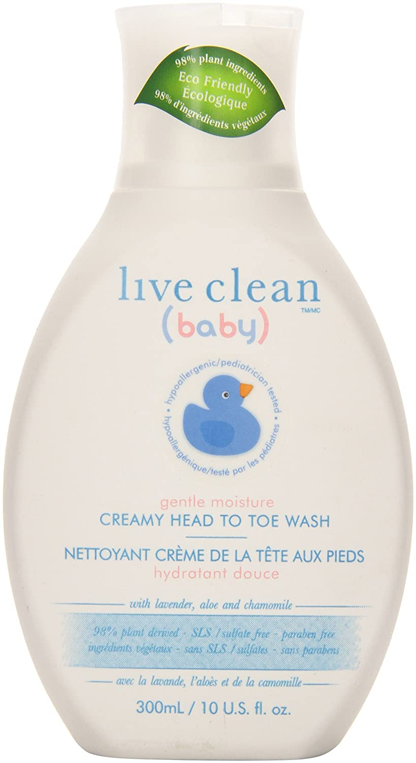 Live Clean Creamy Head to Toe Wash