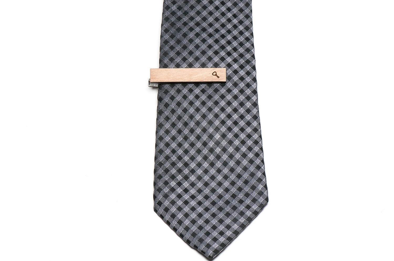 Abridor de botellas, de madera de corbata Tie Bar: Amazon.es: Joyería