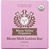 Moon Valley Organics - Lavender Moon Melt Lotion Bar 1.9 oz. - Lavender