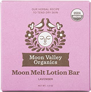 product image for Moon Valley Organics - Lavender Moon Melt Lotion Bar 1.9 oz. - Lavender