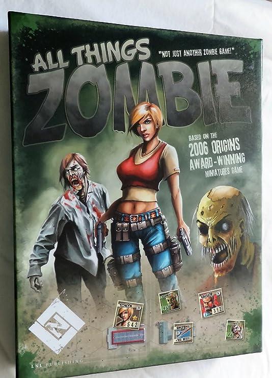 All Things Zombie: Amazon.es: Juguetes y juegos