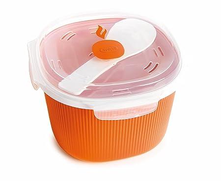 Snips Microondas, plástico, Naranja, Rice Cooker 2.7L