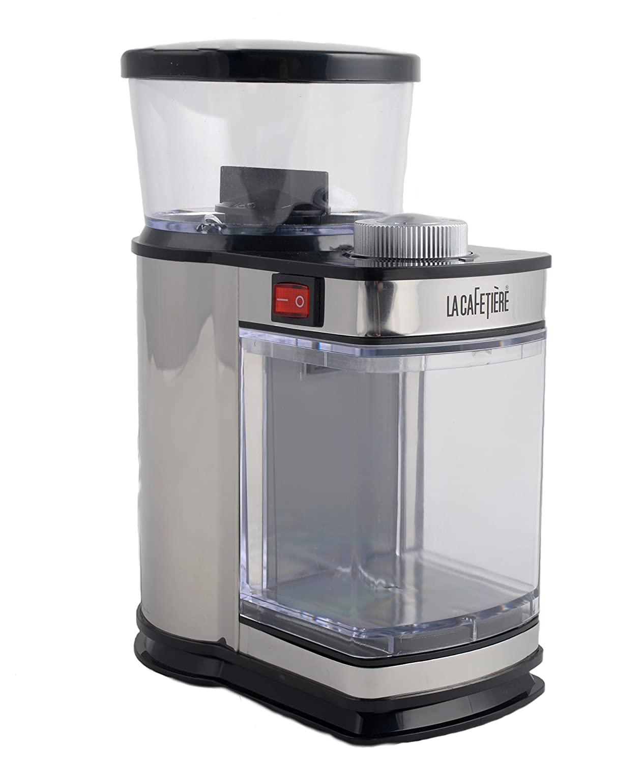 La Cafetiere Electric Coffee Bean Grinder, Black Creative Tops CG011201