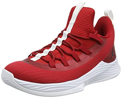 low priced 568ea 2fd17 Nike Herren Jordan Ultra Fly 2 Low Basketballschuhe, Rot (Gym Redblackwhite  601),
