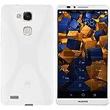 mumbi X-TPU Coque de protection pour Huawei Ascend Mate 7 TPU gel silicone transparent blanc