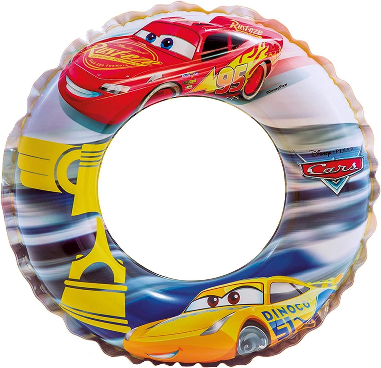 Intex Cars - Flotador hinchable para niños de 3 a 6 años, diámetro ...