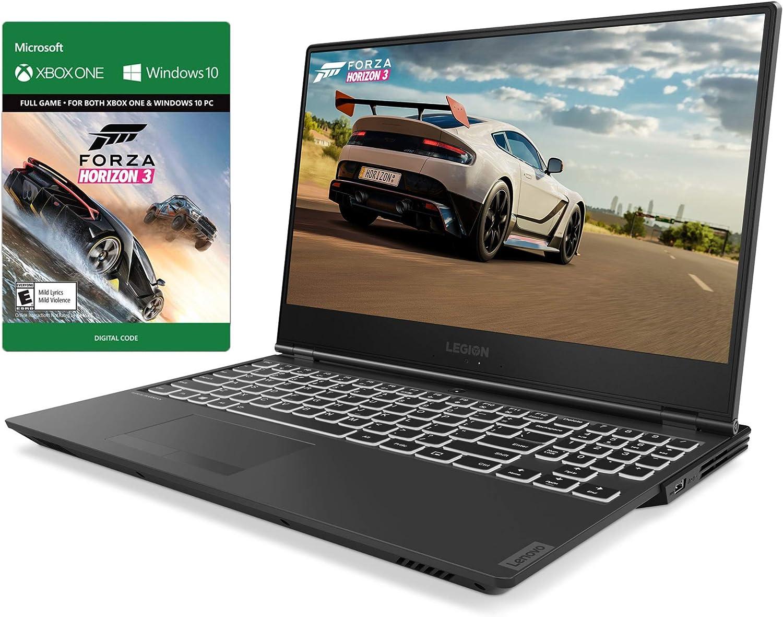 "Lenovo Legion Y540 144Hz Gaming Laptop, 15.6"" IPS FHD, Core i7-9750H 6-Core up to 4.50 GHz, GTX 1660Ti, 16GB RAM, 256GB SSD+2TB SSHD, Backlit, HDMI/Mini DP, RJ-45, USB-C, Forza Horizon 3, Win 10"