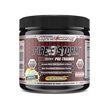 Dyna-Core Labs FireStorm 3 V2 Pre-Workout Powder With Scoopie - Increase  Strength * 2x More
