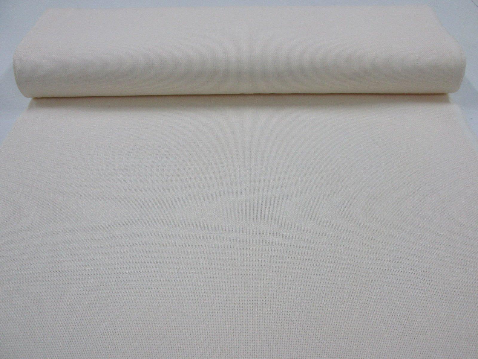 Rayas Blanco Culla con Ancho 2,80 MTS. Confecci/ón Saymi Metraje 0,50 MTS Tejido loneta Estampada Ref