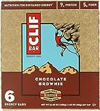 CLIF BAR 【クリフバー エナジーバー チョコレートブラウニー味 6本入り】 【並行輸入商品】
