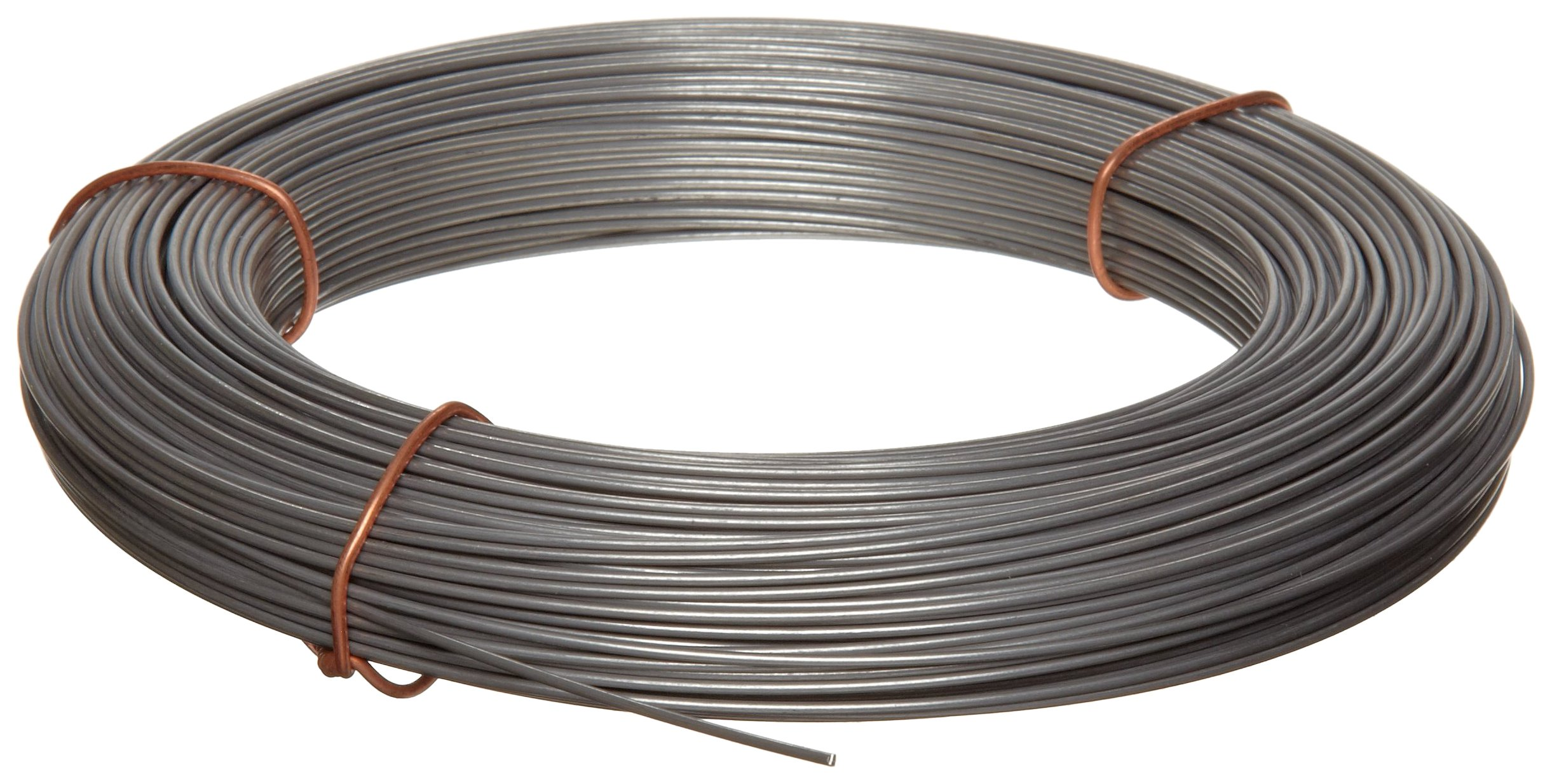 302 Stainless Steel Wire, Unpolished (Mill) Finish, Full Hard Temper, Precision Tolerance, ASTM A555/ASTM A580, 0.022'' Diameter, 774' Length by Small Parts