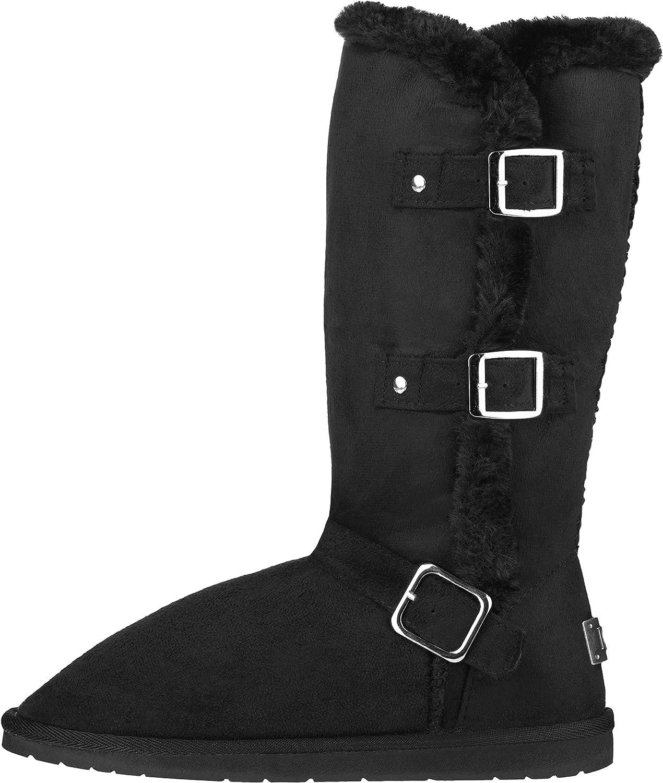 CLOVERLY Women's Winter Snow Boots