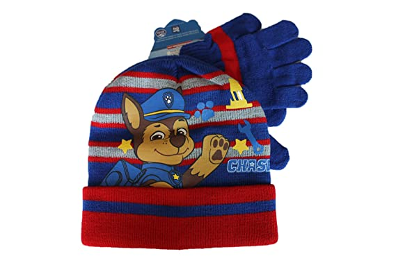 47866321a2f74 nickelodeon-ensemble bonnet gants pat patrouille-bleu et rouge-garçon (52)