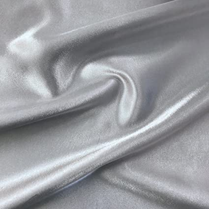 fa3a41e63b589 Image Unavailable. Image not available for. Color: Crepe Back Satin Bridal  Fabric ...