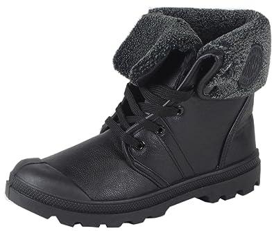 lowest price 2b227 0e496 Kollatta - Damen Worker Outdoor Boots regulierbare Schaftweite Schafthöfe  Schnürstiefel 36 37 38 39 40 41