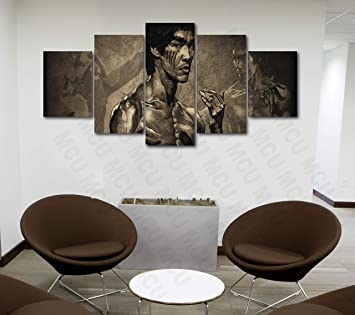 Amazon Com 5 Piece Famous People Mafia Drug Dealers Poster Canvas