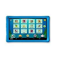 AXXO ST-215B - Kindertablet mit Elternbereich und Vorinstallierte Apps zum Lernen und Spielen, blau