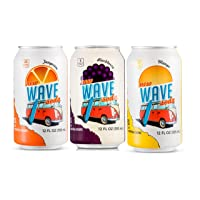 24-Pack Wave Soda Caffeinated Sparkling Water w/Fruit Juice Deals