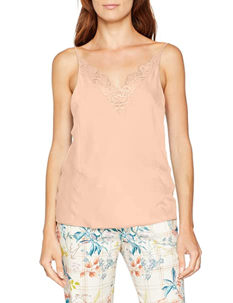 Triumph Mix & Match Aw18 Camisole, Top de Pijama para Mujer, Beige (Smooth
