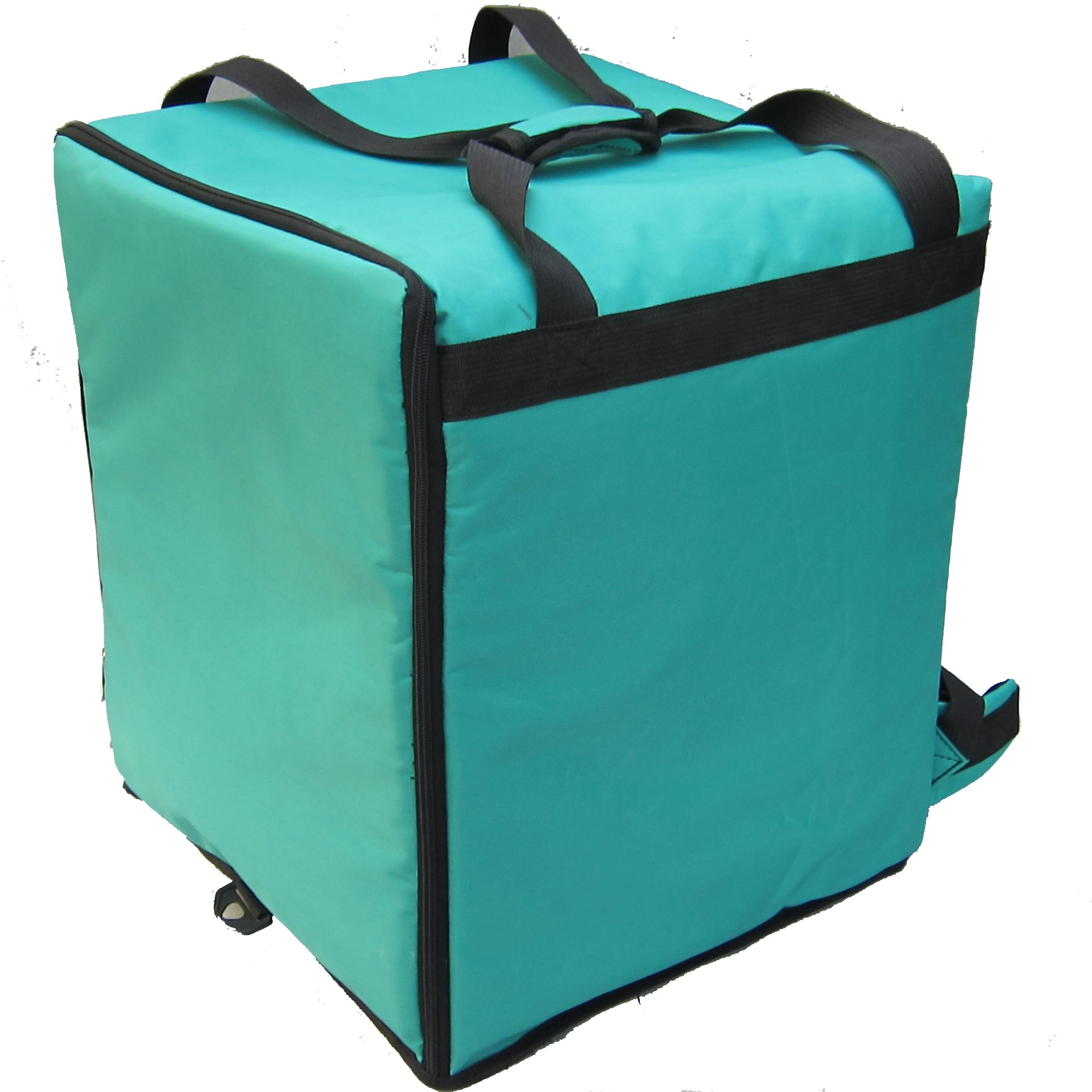 PK-76G: Pizza Delivery Bags, Heat Insulated Driver Backpack, Thermal Food Boxes, 16'' L x 15'' W x 18'' H