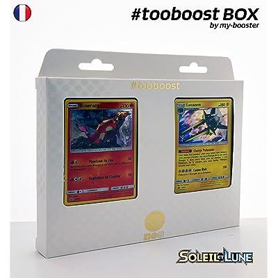 Coffret #tooboost BOUMATA et LUCANON - SM02 - 10 cartes Pokemon francaises