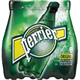 Perrier Sparkling Natural Mineral Water, 6 pack, 16.9 oz bottles