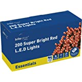 Brite Ideas Festive Productions 200 LED Lights - Red